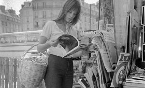 Actress: Jane Birkin shopping in Paris. June 1970 70-6820-006 (Newscom TagID: null) [Photo via Newscom]