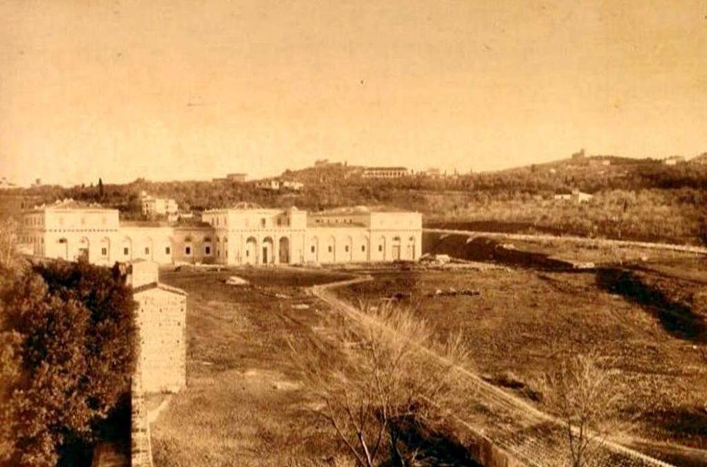 Istituto d'arte - foto storica
