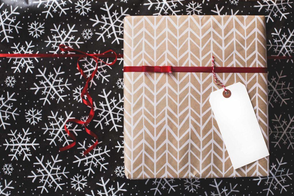 Carta regalo riciclata