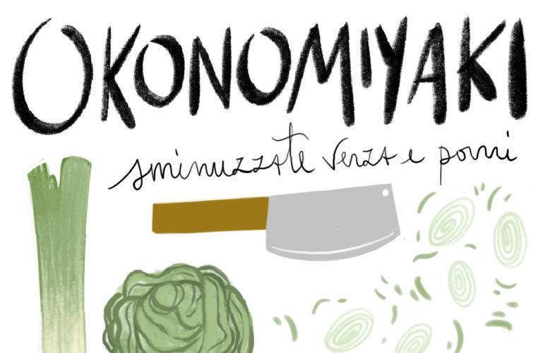Okonomiyaki lavoro e cibo