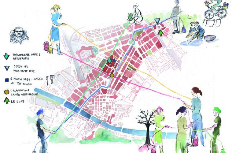 T-Essere in fiore: il tessuto collettivo di Firenze