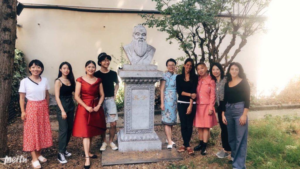Insegnanti dell'Istituto CONFUCIO nella sede di Firenze_2019