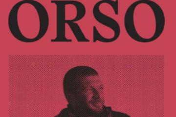 """Copertina """"ORSO,Scritti dalla Siria del Nord-est"""