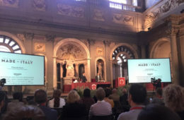Evento del 5 ottobre 2015 Presentazione della sezione Made in Italy del portale Amazon a Palazzo Vecchio.
