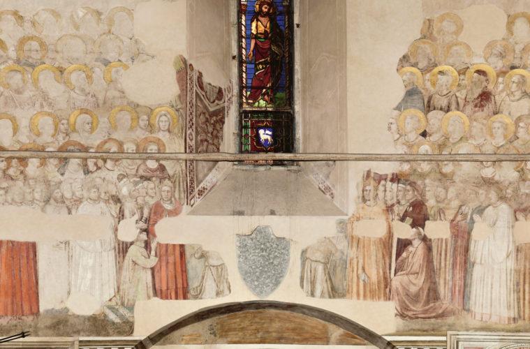 Cappella della Maddalena-Ritratto di Dante